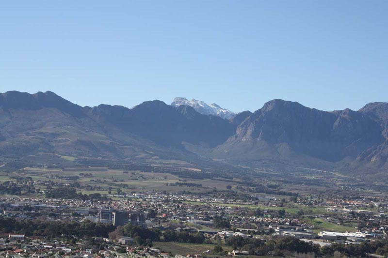 Winter Wetter in Paarl