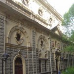 Hinterseite des Rathauses