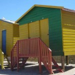 Strandhäuser in Kalk Bay