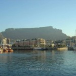 Table Mountain and Cape Town Waterfront