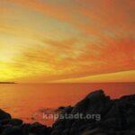 Sonnenaufgang in Llandudno
