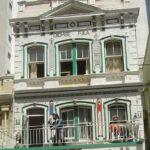 viktorianischer Baustil in Kapstadts Long Street